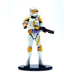 """Attakus Star Wars: CommAnder Cody """"Ready to Fight"""" 1:5 Scale Resin Statue >>> You can get additional details at the image link. (This is an affiliate link) #ActionFiguresStatues"""