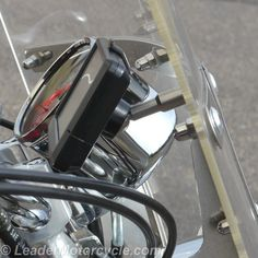 The URBAN Ball motorcycle GPS Mount is all stainless steel so it won't rust or wear. Works with Garmin, Magellan and some other GPS. Shown on windshield - super clean and simple! Made in USA. https://www.leadermotorcycle.com/collections/gps-ball-mounts
