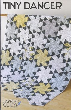 Tiny Dancer Quilt Pattern by Jaybird Quilts - PRINTED PATTERN - Pinwheel Quilt Pattern - Fat Quarter Friendly - 5 sizes