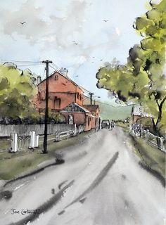 Gallery Pen, Ink and Wash: Paintings of Joe Cartwright