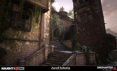 ArtStation - Uncharted 4: A Thiefs End - Port Town Chase, Jared Sobotta