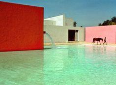 Arquitectura mexicana con Barragán.   Bossa