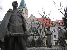 Namestie SNP, Bratislava, Slovakia