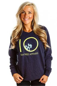 Like the yellow in it :) Navy Women, Graphic Sweatshirt, Sweatshirts, Sweaters, Clothes, Christmas, Trees, Yellow, Plants