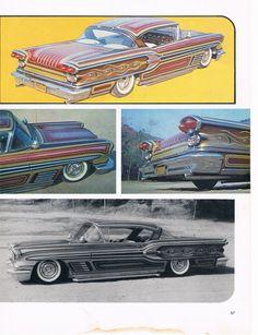 Click this image to show the full-size version. Teddy Boys, Lead Sled, S Car, Car Painting, Kustom, Drag Racing, Custom Paint, Paint Ideas, Custom Cars
