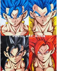 New wall paper cool anime 47 ideas Dragon Ball Z, Goku Y Vegeta, Dbz, Super Saiyan Blue Vegito, Manga Anime, Evil Goku, Gogeta And Vegito, Chibi, Anime Artwork