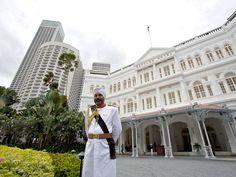 Raffles Hotel, Singapore - http://www.raffles.com/singapore/
