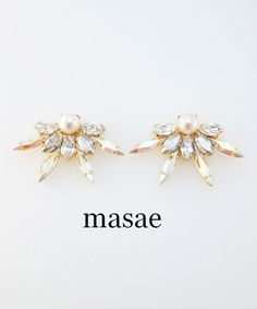 【masae】BIJOUX COLLECTION AURORA PIERCES #シータ・ミュー