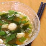 One Perfect Bite: Miso Soup + Seaweed Harvest for Outdoor Wedensday