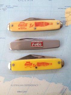 Vintage Coca Cola Pocket Knifes | eBay