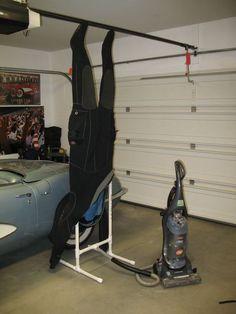 Dry suit dryer
