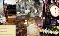 Mossy Couture: Photo Round-up: Alternative Guestbook Ideas