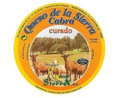 Queso de Cabra, elaborado por Quesos de la Sierra en Fregenal de la Sierra en Badajoz
