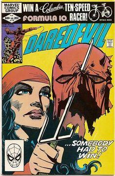 BRONZE AGE 1982 DAREDEVIL #179 MARVEL COMIC ELEKTRA APPEARANCE