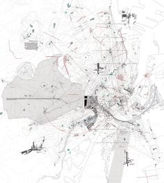 Sayan Skandarajah, Curating an Egalitarian Territory Architecture Mapping, Architecture Graphics, Concept Architecture, Architecture Drawings, Enterprise Architecture, Urban Analysis, Site Analysis, Plan Drawing, Drawing Sketches