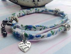 Fabric Bracelets | Tutorial