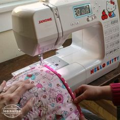Tiny Sewists: Teaching Kids to Sew :: Lesson 9, Project 2, Continued - A Jennuine Life