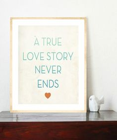 'True Love' $14.99 Print  #zulily #zulilyfinds