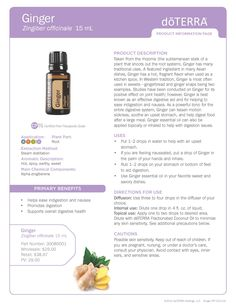 Ginger_Essential_Oil_Product_Information_Page