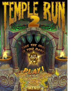 Complete every temple run objective #bucketlist