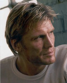 """Dolph Lundgren.  Never into his film career but the BEST thing about him is... """"He received a master's degree in chemical engineering from the University of Sydney, New South Wales, Australia, in 1982, and the next year was awarded a Fulbright Scholarship to MIT. IQ score: 160.'"""" Mensa Member!"""