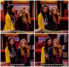 "#GirlMeetsWorld 2x06 ""Girl Meets the Tell-Tale-Tot"" - Riley and Maya"
