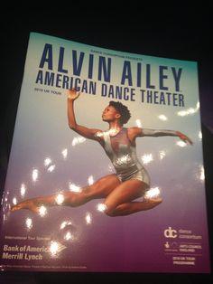 Alvin Ailey: my initial career-choice... X