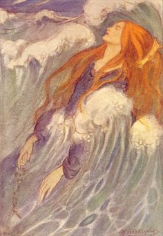 Florence Susan Harrison: an illustration to Christina Rossetti's poem 'Dream Land'.