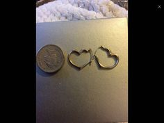 These are a pair of gold heart earrings great gift for Christmas. The will come in gift box . See other great gifts for sale . Gold Jewelry, Jewellery, Unique Jewelry, Great Christmas Gifts, Heart Of Gold, Heart Earrings, Mother Day Gifts, Heart Ring, My Etsy Shop