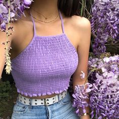 stylish clothes,newest fashion,hot new outfits,shop fashion Purple Outfits, Spring Outfits, Girl Outfits, Night Outfits, Crop Top Outfits, Trendy Outfits, Cute Outfits, Sweater Outfits, Fashion Clothes