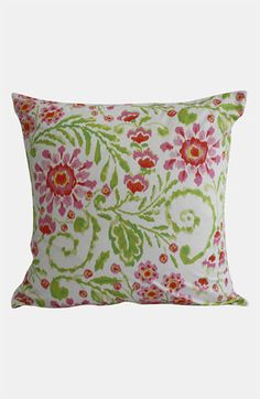 Dena Home 'Ikat Blossom' Euro Pillow Sham available at #Nordstrom