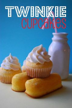 twinkie cupcakes donna_keil -  - from my fav http://pinned-recipes.net
