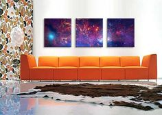 Center of the Milky Way Galaxy (Chandra/Hubble/Spitzer) By Astronomy  Space Canvas Print - iCanvasART.com