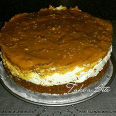 Pepernoten & witte chocolade cheesecake