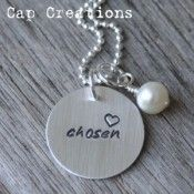 Hand Stamped Jewelry, Hand Stamped Silver Jewelry