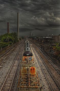 Thunder Rails is a photograph by Lynn Terry. Source fineartamerica.com
