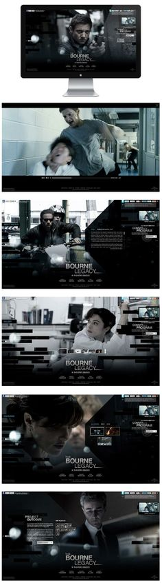 The Bourne Legacy http://www.behance.net/gallery/The-Bourne-Legacy/4721939
