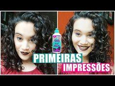PRIMEIRAS IMPRESSÕES: CREME CRESPO DIVINO 3B-3C - cabelo cacheado/ondulado - YouTube
