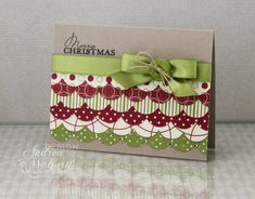 Scalloped Christmas Card by aswalford - Cards and Paper Crafts at Splitcoaststampers