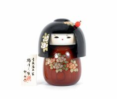 Tsubakisakukoro | Title of this doll is, When a Camellia blooms | 6.58 inch  w/kifuda