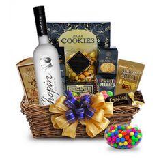 Chopin Vodka Gift Basket; Chopin Single Variety Single Origin 'Late' Potato Vodka | spiritedgifts.com Alcohol Gift Baskets, Gourmet Gift Baskets, Vodka Gifts, Alcohol Gifts, Grey Goose Vodka, Premium Vodka, Wine And Liquor, Italian Wine, Tropical Fruits