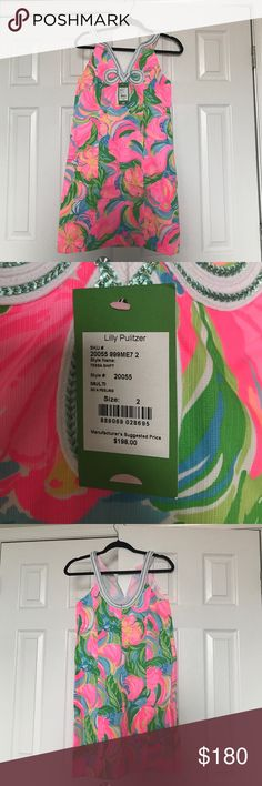 Lilly Pulitzer Dress New with tags! Size 2 Brand new Lilly Pulitzer dress, with tags! Size 2! Lilly Pulitzer Dresses