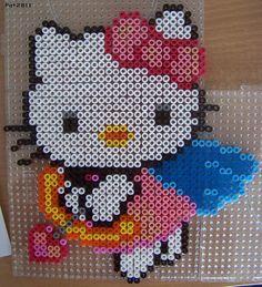 Perles Hama : Hello Kitty - Les loisirs de Pat