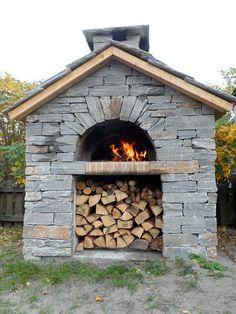 Bilderesultat for utepeis og pizzaovn med gammel murstein