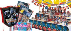 Transformers Party Supplies - Transformers 3 Birthday - Party City