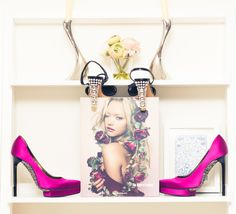 """I am too lazy to shop, and do 90% online."" http://www.thecoveteur.com/louise-nichol-editor-in-chief-harpers-bazaar-arabia/"