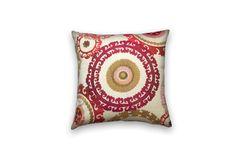 Suzani Decorative Pillow Cover