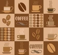 coffee poster and coffee color