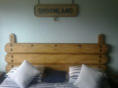 (RS 74) Rustic Headboard Dimensions L2200 x H1400 mm.  Price R2 690 Each For This Size! We manufacture exclusive rustic wooden furniture in Paarl, Western Cape, South Africa. We take orders, manufacture according to your specifications and do deliveries nationwide! Contact us at Roes & Skroef, 0218632371, 0835143382 Riaan, 0833400954 Ryk, or e-mail humanr@telkomsa.net for a current exclusive pricelist with photos and measurements.