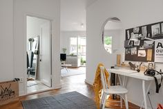 Contemporary Interior Design Brought in a 1930s Sweedish Apartment